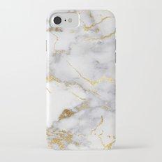 Italian gold marble iPhone 7 Slim Case