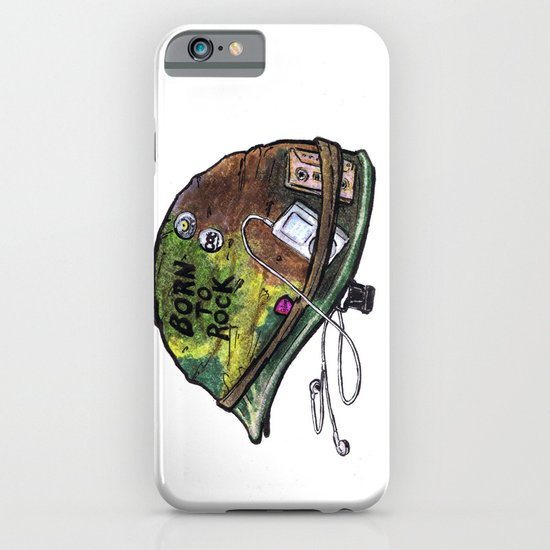"""""""Born to Rock"""" by Cap Blackard iPhone & iPod Case"""