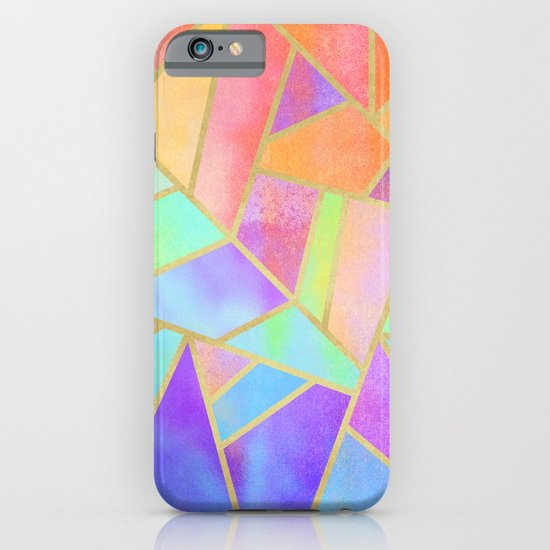 Rainbow Stone iPhone & iPod Case