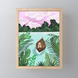 Adventure Awaits Framed Mini Art Print