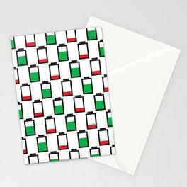 Power Up Negative Stationery Cards