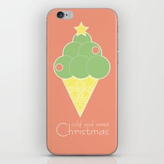 cold and sweet Christmas iPhone & iPod Skin