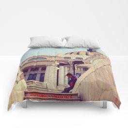 Bellas Artes Metro View Comforters