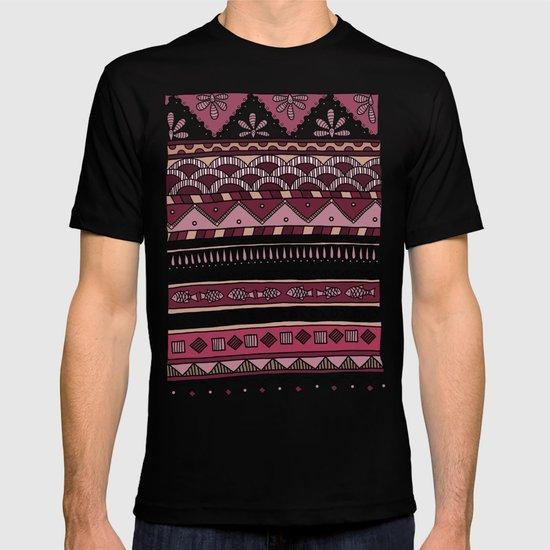 Yzor pattern 004 lilac T-shirt