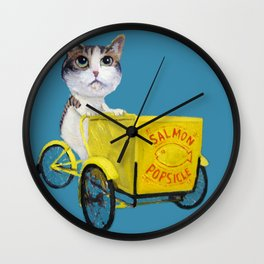 Ambition Tricycle Wall Clock