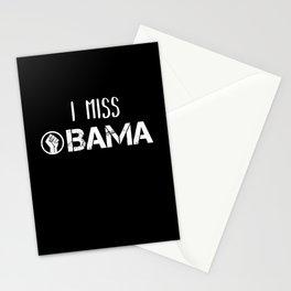 I miss Obama Black Lives Matter BLM Equality Stationery Cards