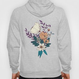 Botanical pattern 008 Hoody