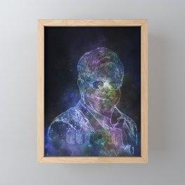 EltonJohn stars Framed Mini Art Print