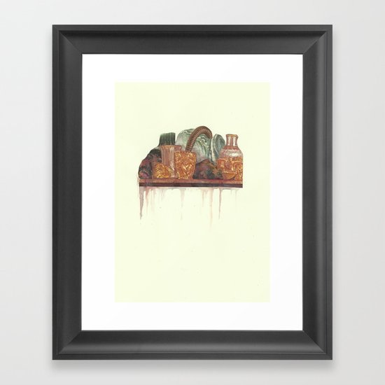 FEAST Framed Art Print