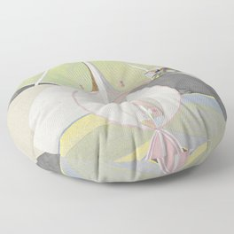 hilma af klint groupivthetenlargestno 7. Floor Pillow