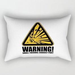 Obvious Explosion Hazard Rectangular Pillow
