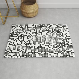 Abstract Pixel Rug