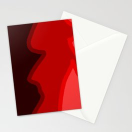 Yeah-red Stationery Cards