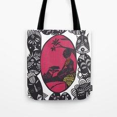 African Masks Tote Bag