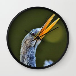 What I Want to Say Wall Clock