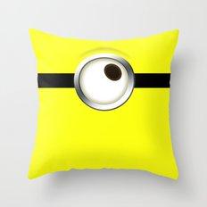 one-eye Throw Pillow
