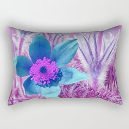 Pasque flowers 176 Rectangular Pillow