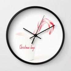 Christmas days Wall Clock