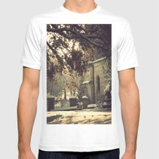 nieve en urkiola Mens Fitted Tee MEDIUM White