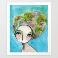 The Muse Of Spring Art Print