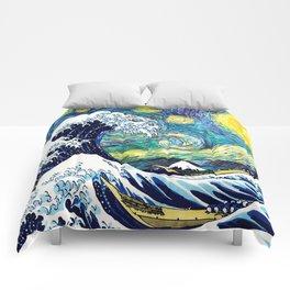 Starry Wave Night Comforters
