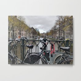 November in Amsterdam Metal Print