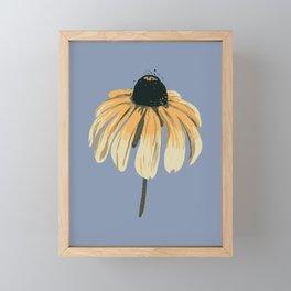 Blackeyed Susan Framed Mini Art Print