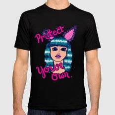 Protect Your Own Black Mens Fitted Tee MEDIUM