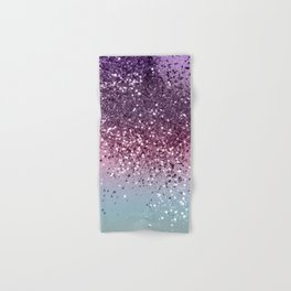 Unicorn Girls Glitter #6 #shiny #pastel #decor #art #society6 Hand & Bath Towel