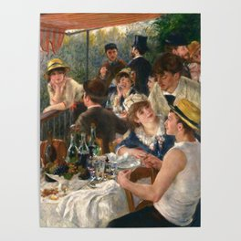 "Auguste Renoir ""Luncheon of the Boating Party"" Poster"