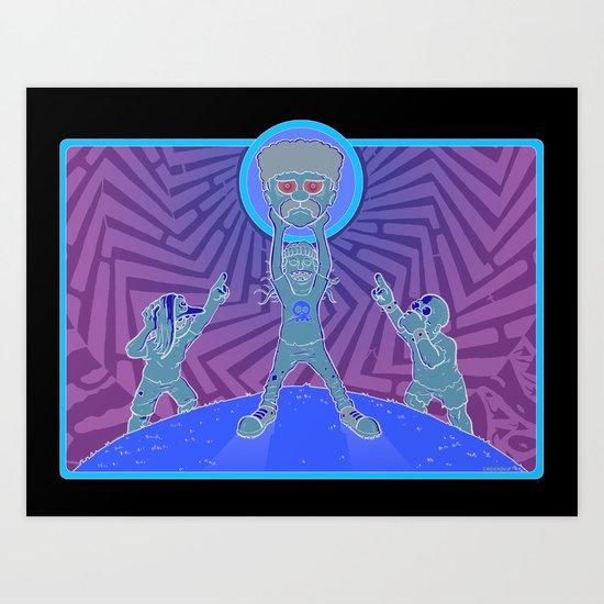 Simpsons Bullies  Art Print
