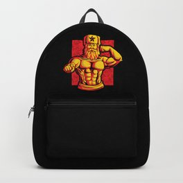 Soviets At The Gym | Fitness Training Muscles Backpack