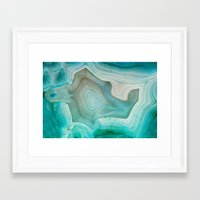 crystal Framed Art Prints featuring THE BEAUTY OF MINERALS 2 by Catspaws