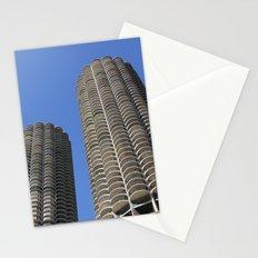 marina city // wilco towers Stationery Cards
