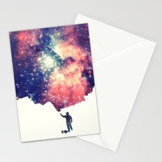 Painting the universe Stationery Cards