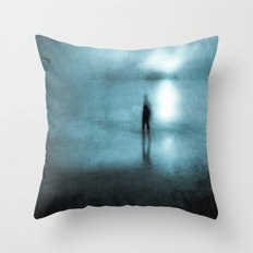 Head Above Water Throw Pillow