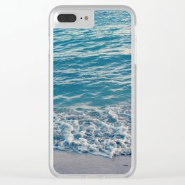 Island Tides Clear iPhone Case