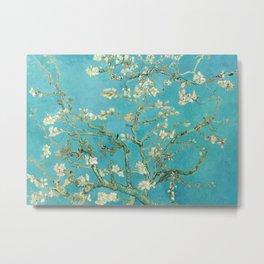 Almond Blossom by Vincent van Gogh, 1890 Metal Print