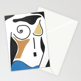 Shapes-Nude Stationery Cards