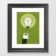 *Click* Framed Art Print