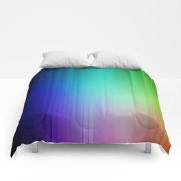 Showering Streaks of Rainbows Comforters