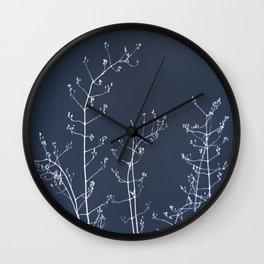 Jasmine In the Still of the Night Wall Clock