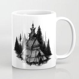 Fantoft Stave Church Coffee Mug