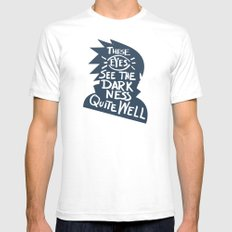 Will of Team 7 [Blue] SMALL White Mens Fitted Tee