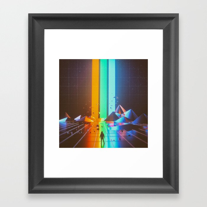 RGB (08.07.15) Framed Art Print