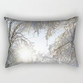 Return of the Sun Rectangular Pillow