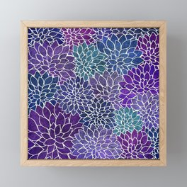 Floral Abstract 22 Framed Mini Art Print