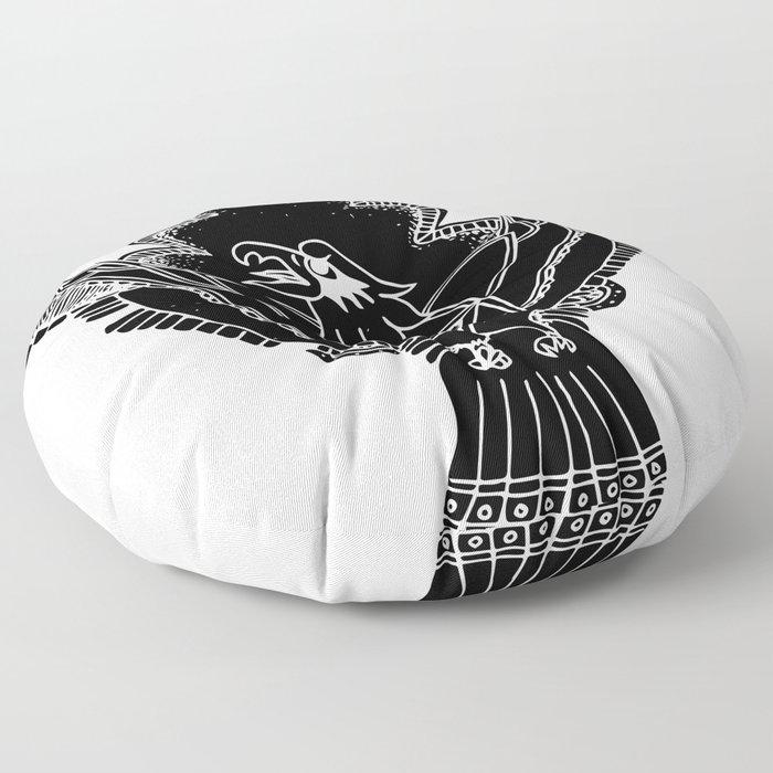 See No Evil Floor Pillow