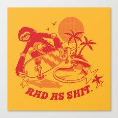 RAD AS SH*T Canvas Print