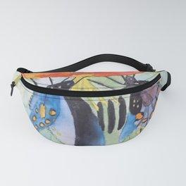 Butterfly Watercolor Fanny Pack